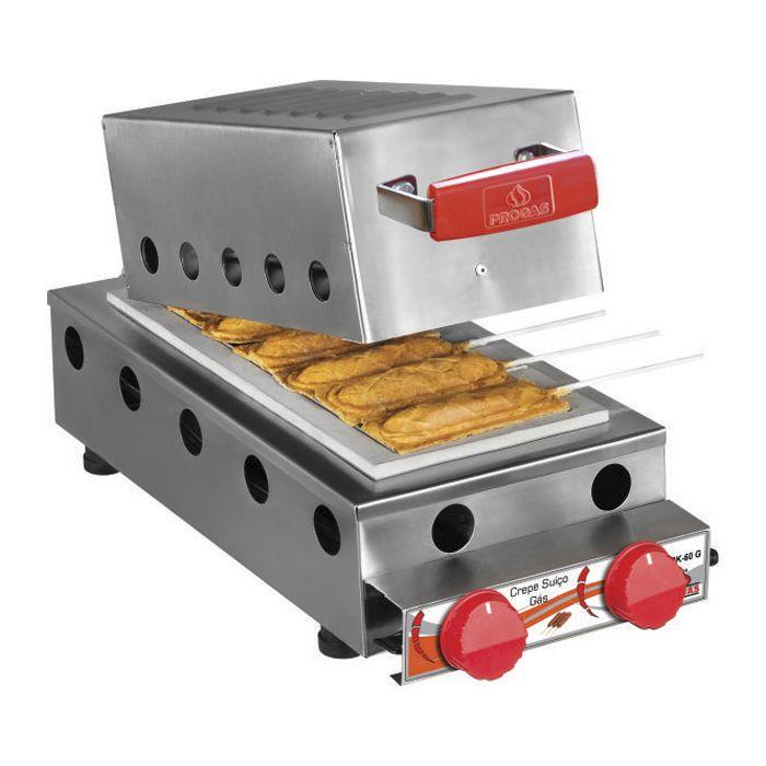 Crepe no palito a gas progas cap. 06 un mod. prk-  60g ref. p29583