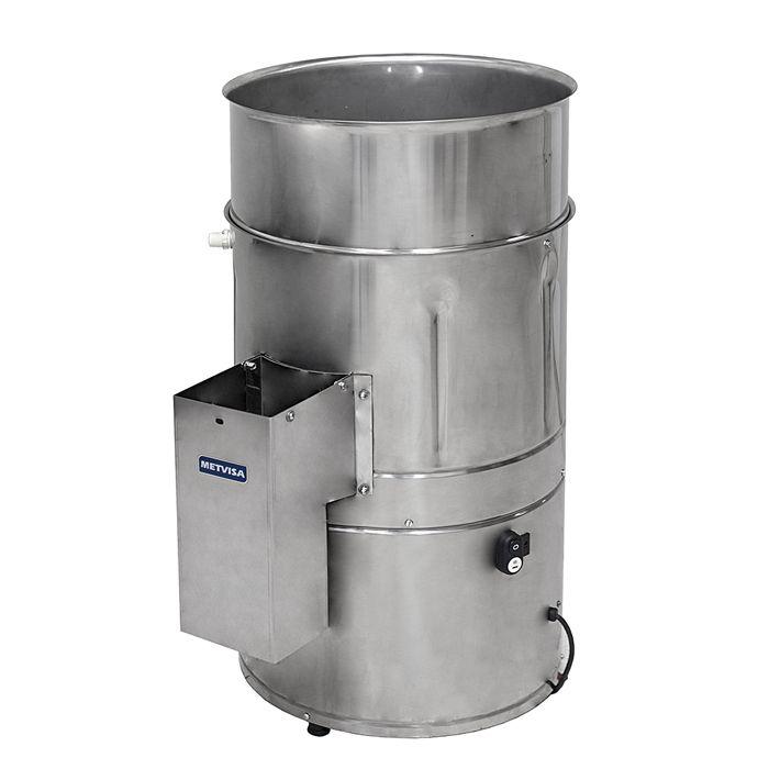 Descascador de batatas visa 10 kg 1/3 hp 127v mod. db10127m60n5