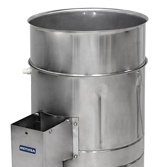Descascador de batatas visa 10 kg 1/3 hp 127/220v mod.db10bivmf60n51