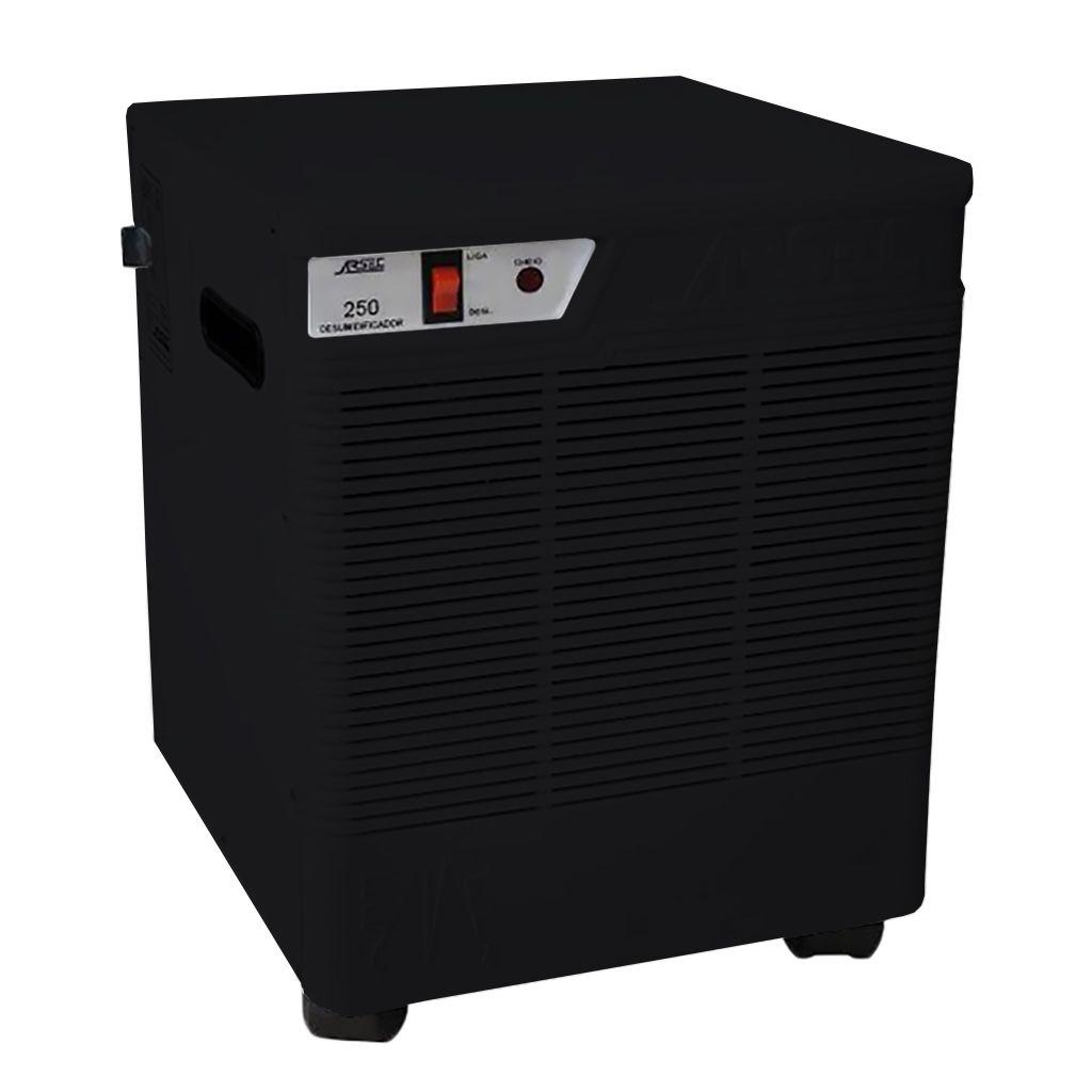 Desumidificador de ar 127v cap. 150m3 preto     analogico arsec mod. 160