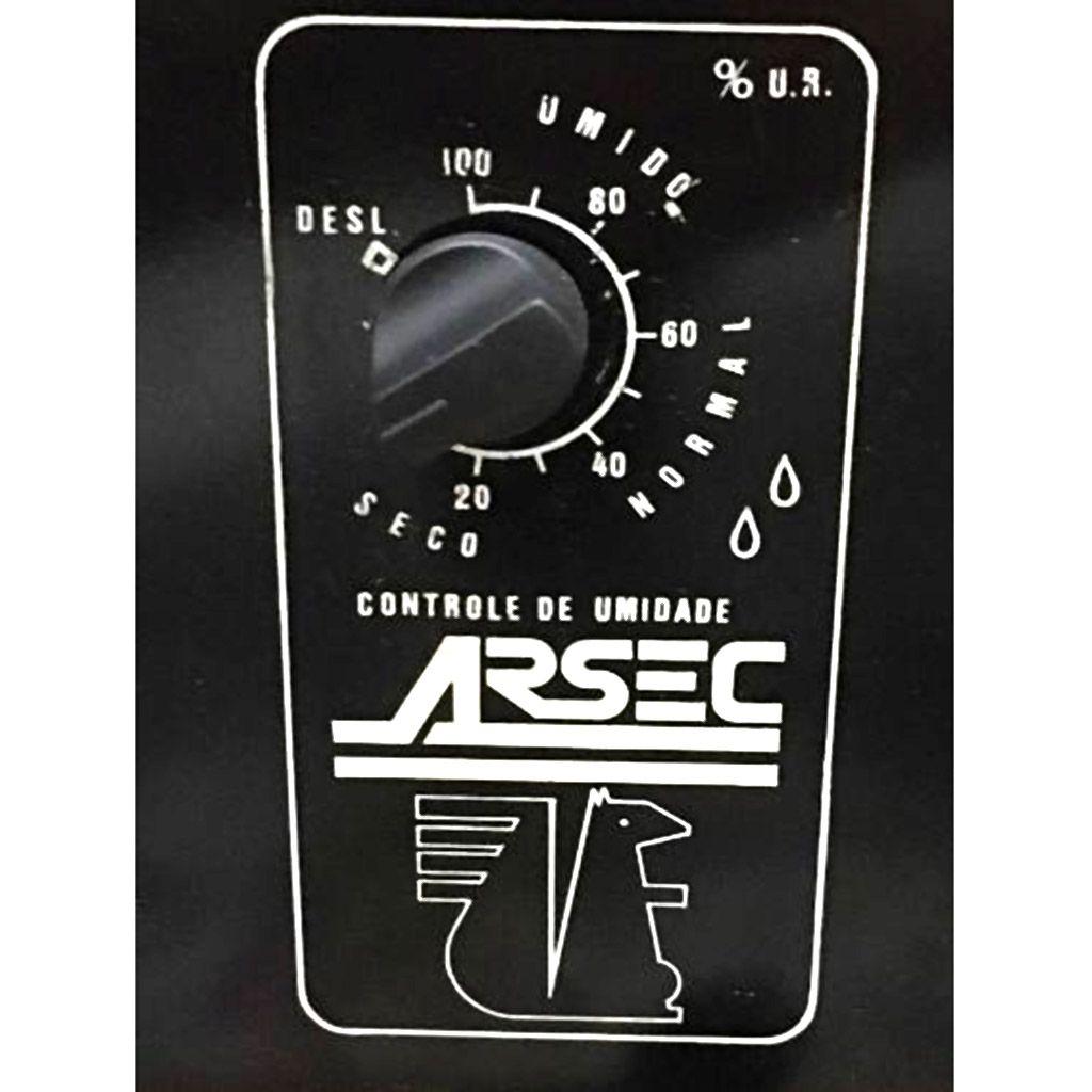 Desumidificador de ar 127v cap. 150m3 preto arsec mod. 160