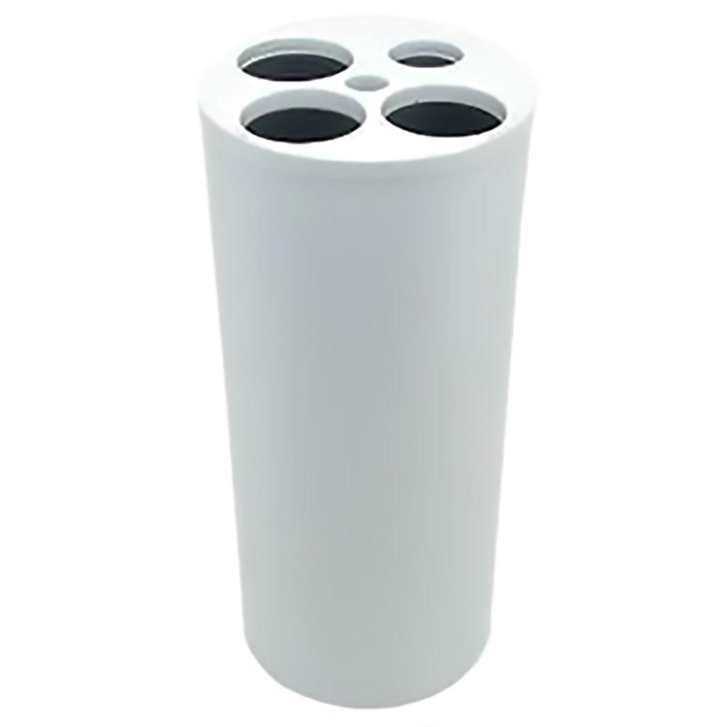 Dispensador de Copos Descartáveis Com 5 Tubos Branco