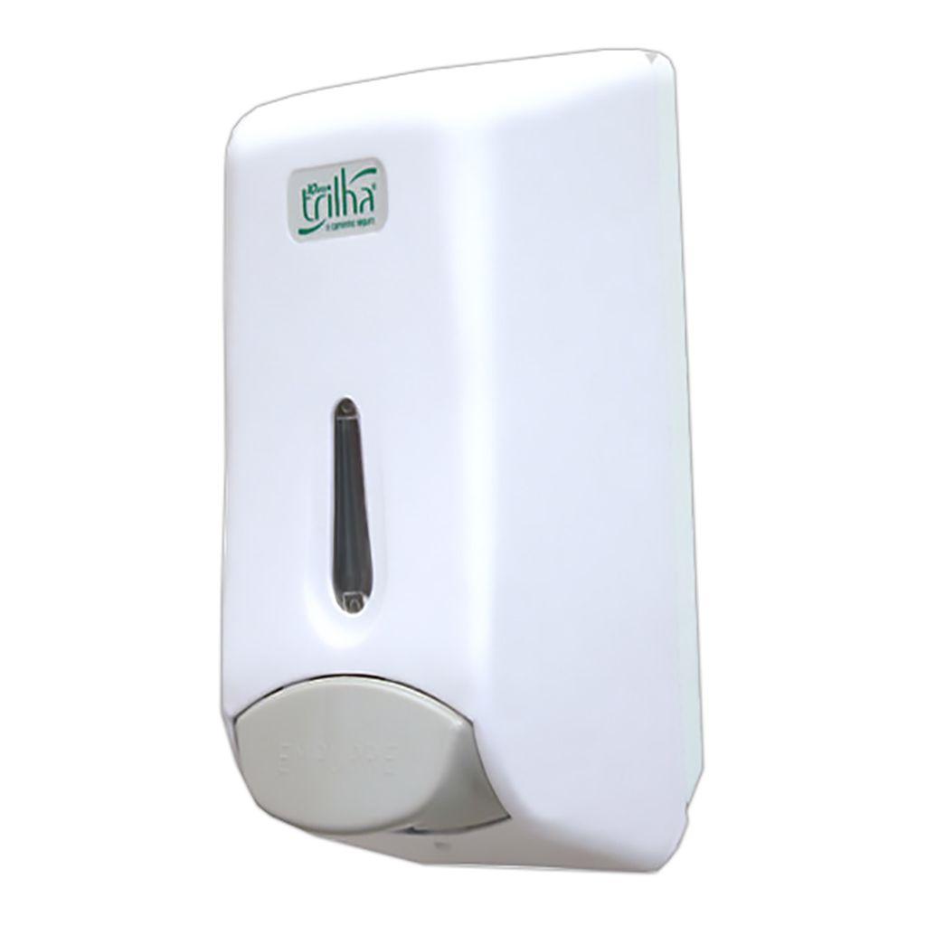 Dispenser Para Álcool Gel ou Sabão Trilha T-2384 TL Branco