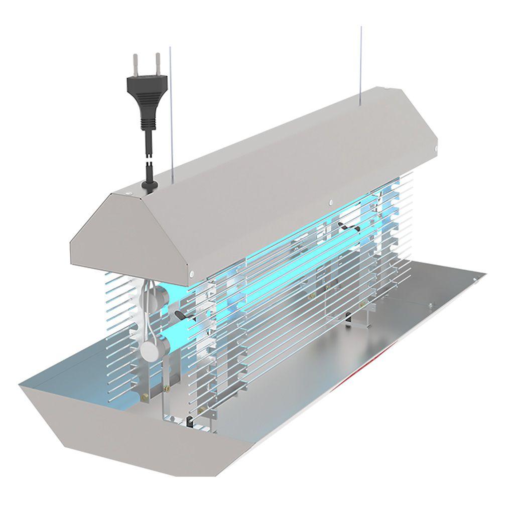 Armadilha Luminosa Para Insetos Extinsect 50cm DG Teto - 127/220v
