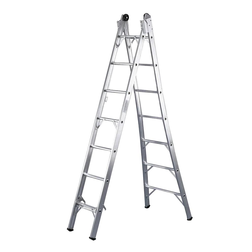 Escada de Alumínio Abre e Fecha 4,5m SBA