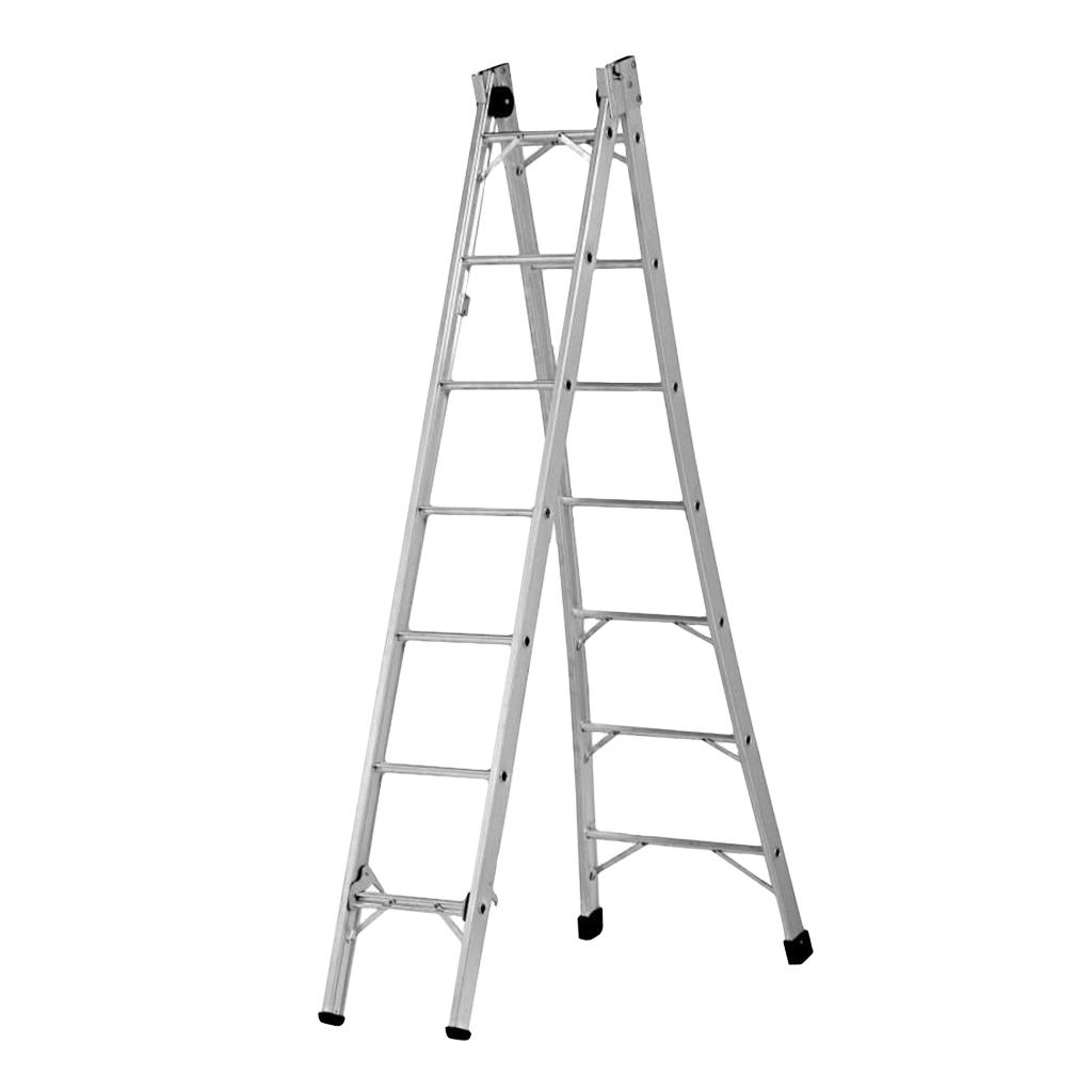 Escada de Alumínio Extendida 7,2m SBA