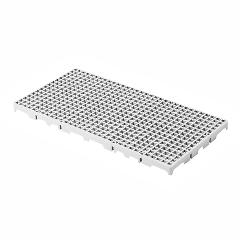 Estrado Modular Della Plast Branco 2,5x25x50cm
