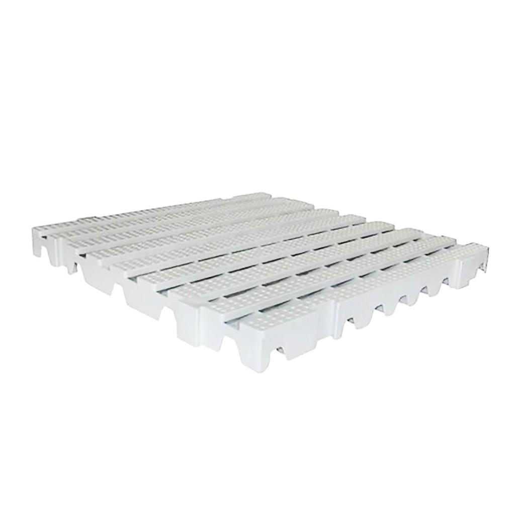 Estrado Modular Della Plast Branco Neve 4,5x50x50cm