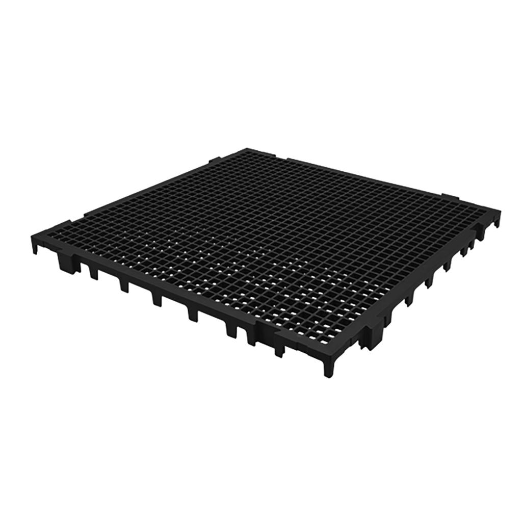 Estrado Modular Della Plast Preto 3x50x50cm
