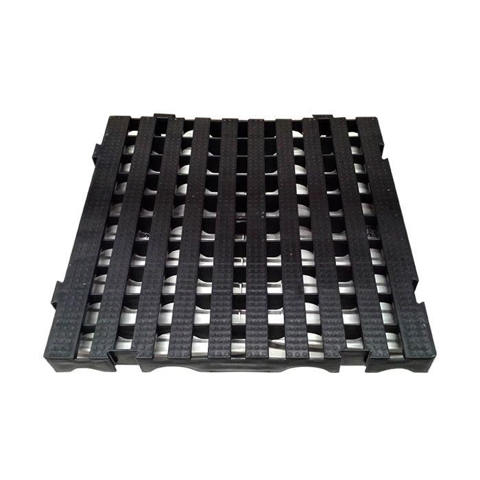 ESTRADO MODULAR PRETO DELLA PLAST TAM. 4,5X50X50 CM REF. DP202/ 1302/ 92