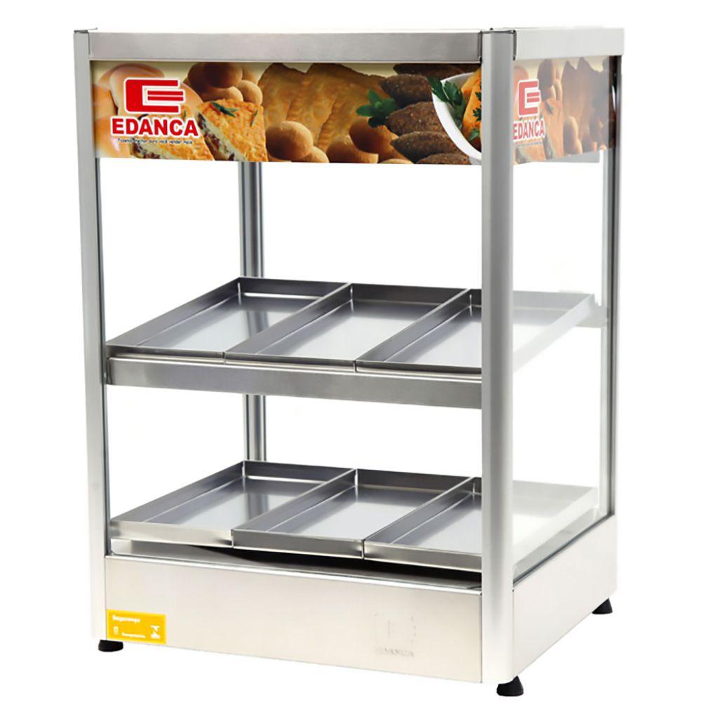 Estufa vertical reta 6 bandejas c/ display 127v edanca mod. erevp-6