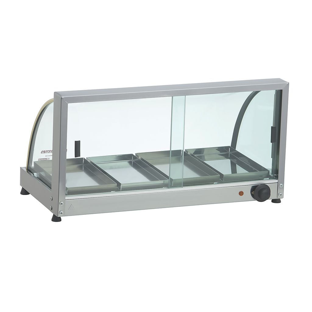 Estufa vidro curvo   4 bandejas 127v edanca serie ouro mod. eo-04