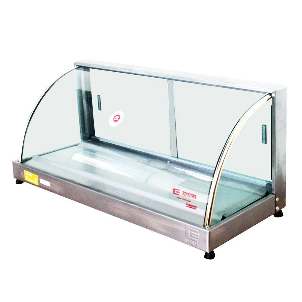Estufa vidro curvo   5 bandejas serie ouro 127v edanca mod. eo-05