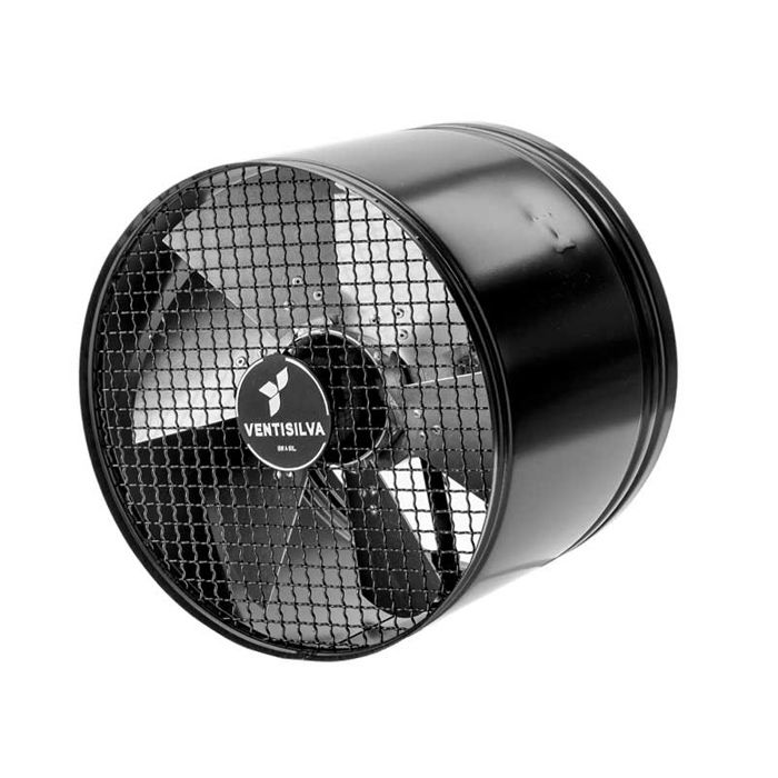 Exaustor axial 40 cm ventisilva 1/3 hp monofasico 127/220v 75m3/min  mod. e40m4
