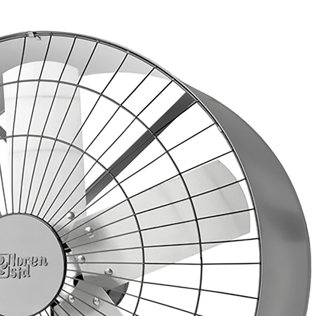 Exaustor Axial Loren Sid 0,37HP 9000m3/h 60cm Monofásico 2666 - 220v