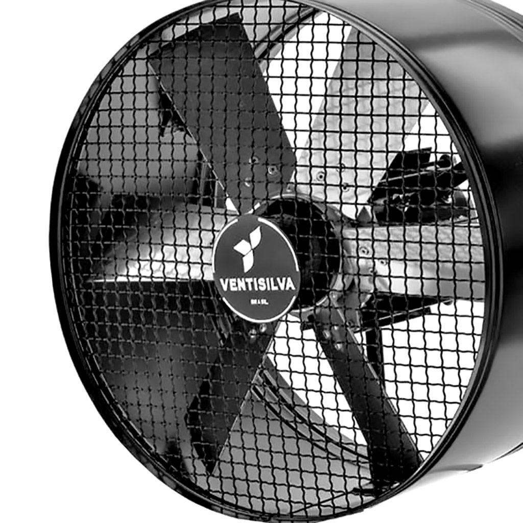 Exaustor Axial Ventisilva 1/2 hp 50cm Trifasico e50t4 - 220/380v