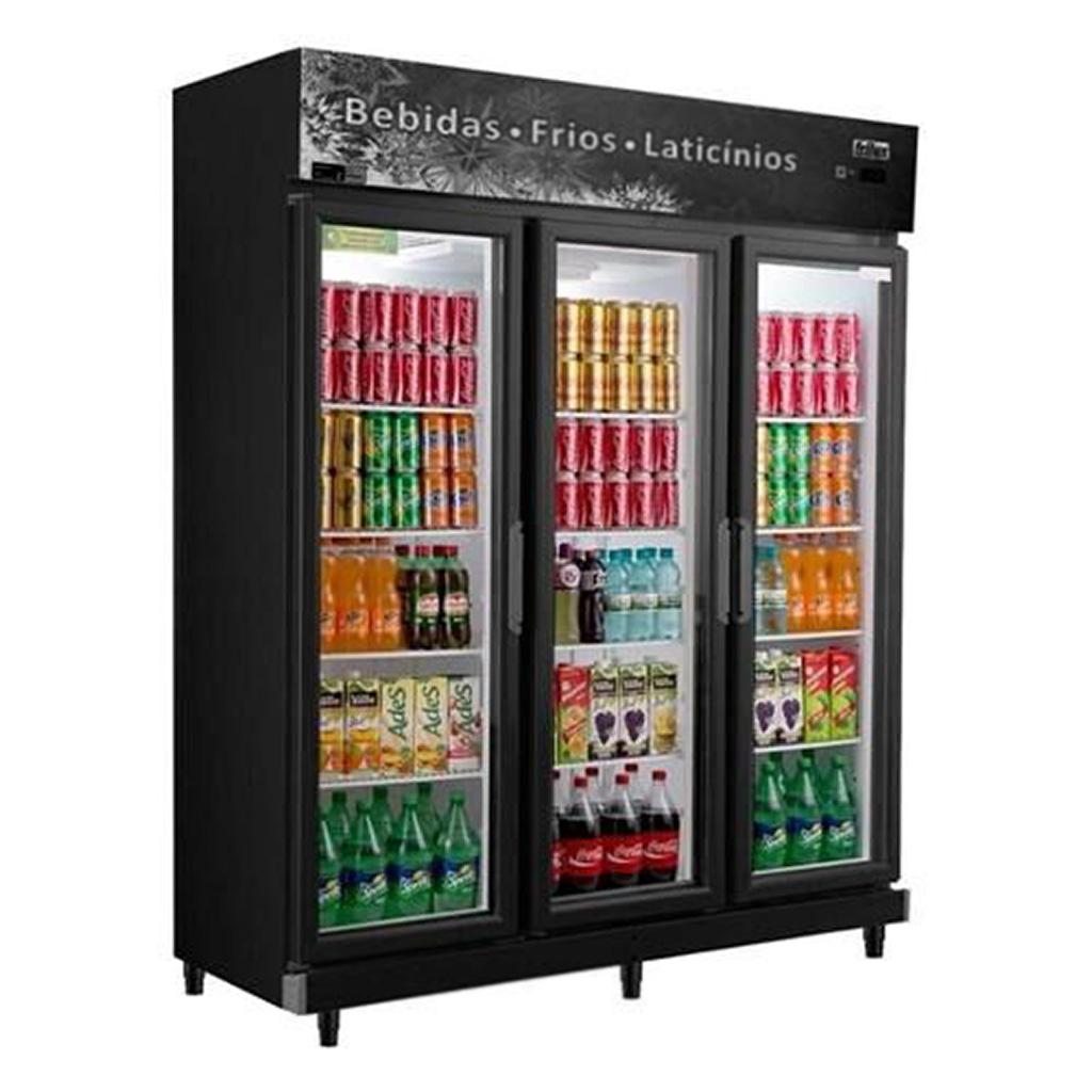 Expositor Refrigerado de Bebidas Vertical Frilux 1050L RF-022 - 127V