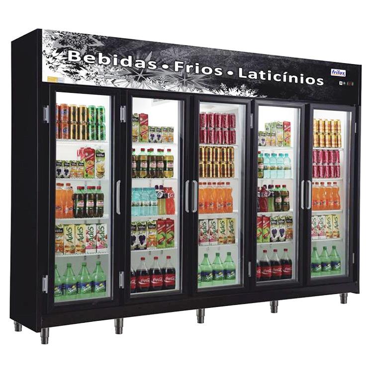 Expositor Refrigerado de Bebidas Vertical Frilux 1720L RF-024 - 127V