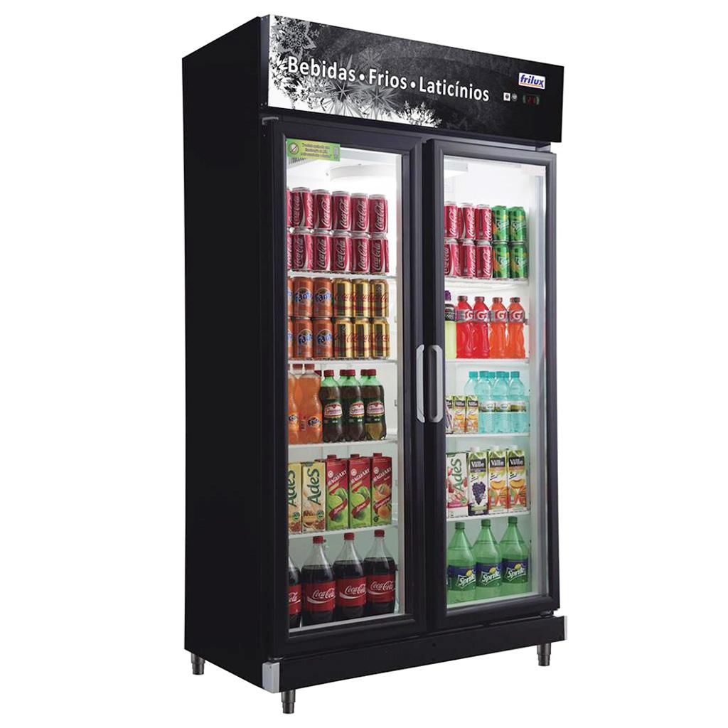 Expositor Refrigerado de Bebidas Vertical Frilux 700L RF-020 - 127V
