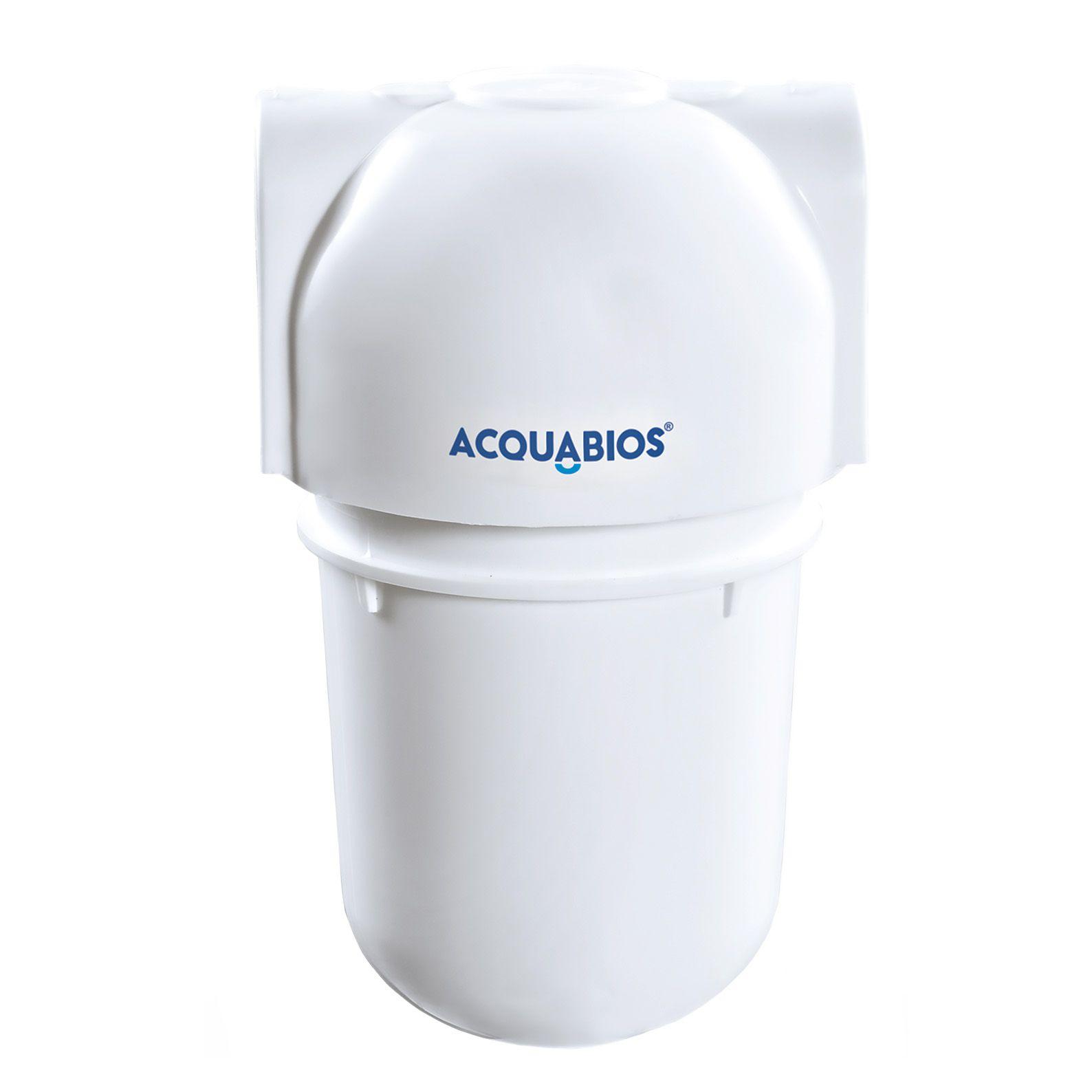 Filtro Acquabios 60L/H Branco Acqua Carbon Block 5