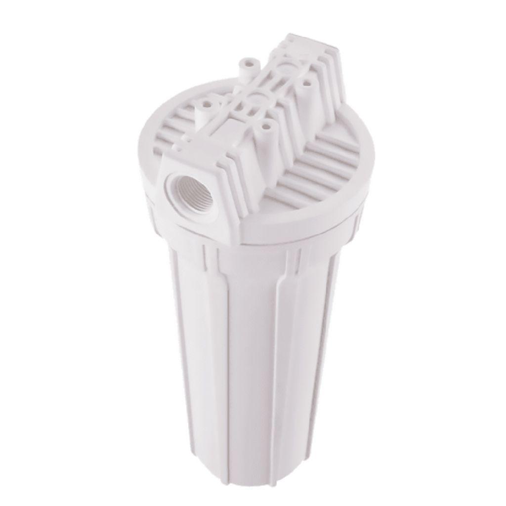 Filtro Hidrofiltros 120L/H Branco Carbon Block Clor 9. 3/4