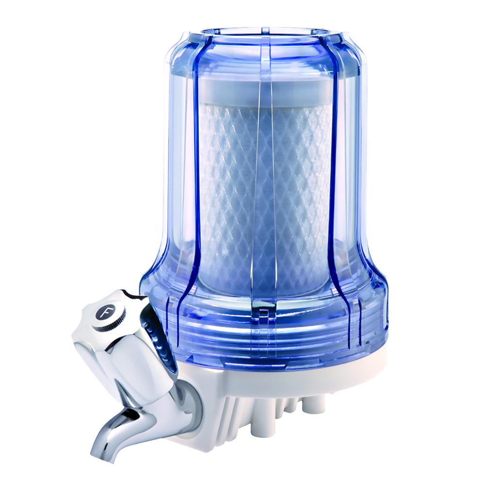 Filtro Hidrofiltros 80L/H Transparente Com Torneira Blist 5