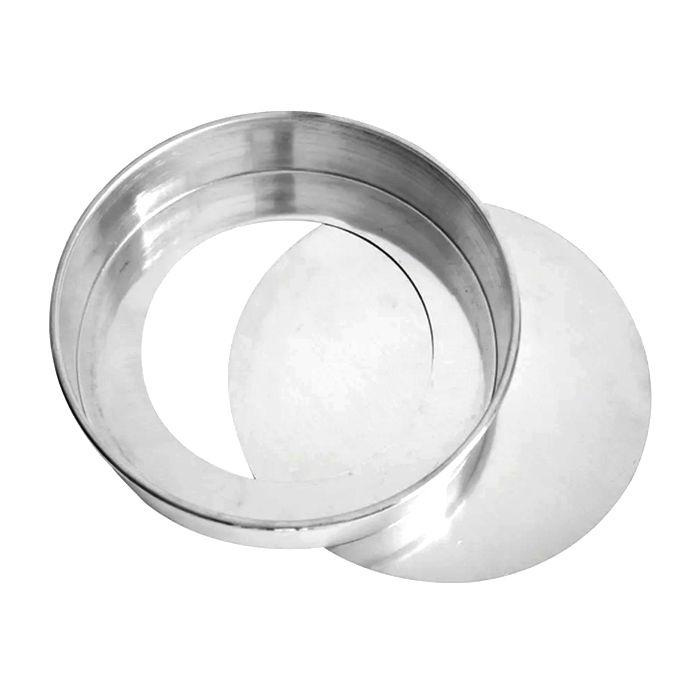 Forma p/ bolo fundo falso em aluminio nº.35 abc ref. 690
