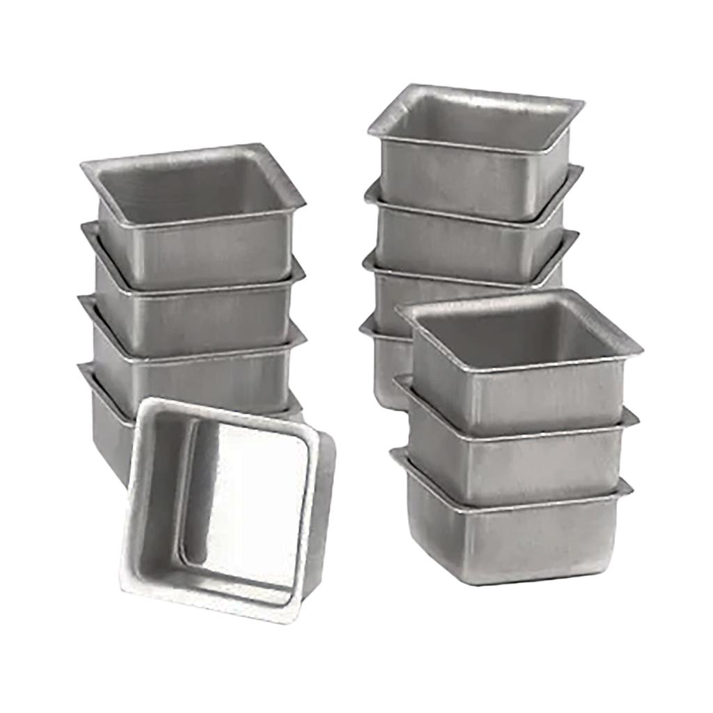 Forminha Pão De Mel Alumínio - 12 Unidades