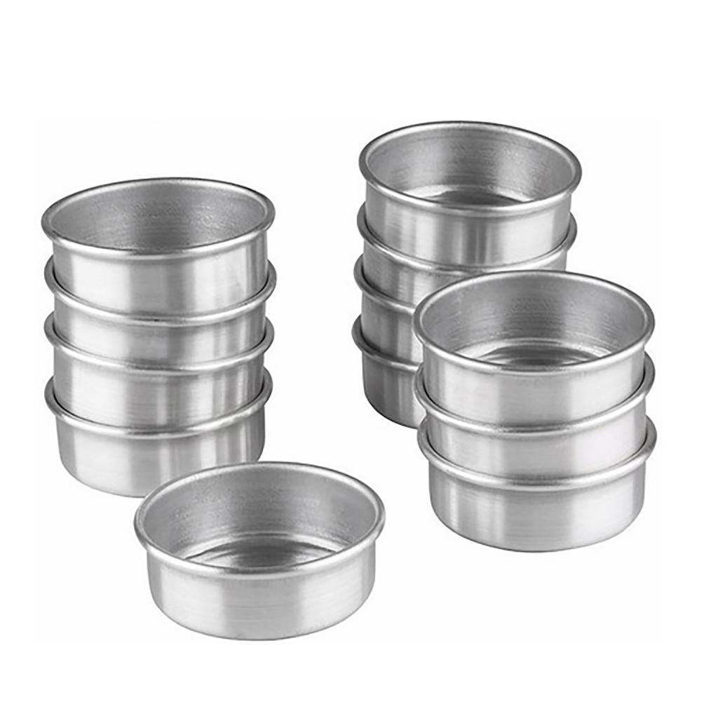 Forminha Pão De Mel Alumínio Cimapi nr. 2 - 12 Unidades