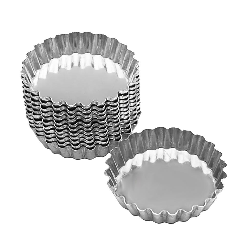Forminha Para Torta De Maçã Alumínio 6cm Cimapi - 12 Unidades