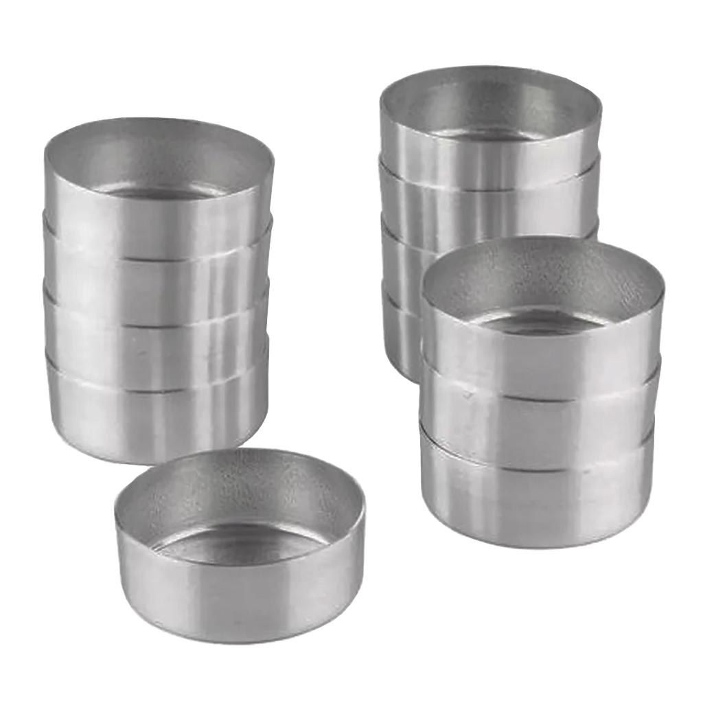 Forminha Quiche Alumínio nr. 1 - 12 Unidades