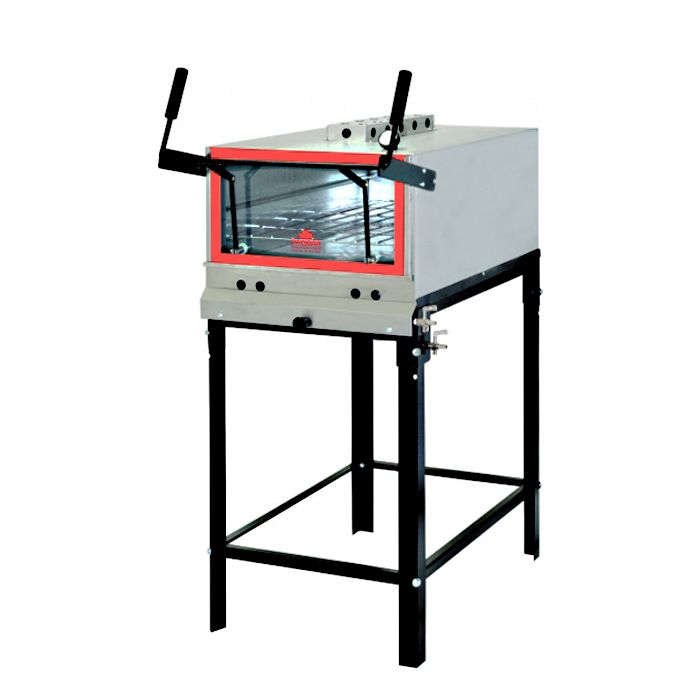 Forno a gas inox refratario c/ infravermelho progas prpi-800kg ref. 5091/p37956