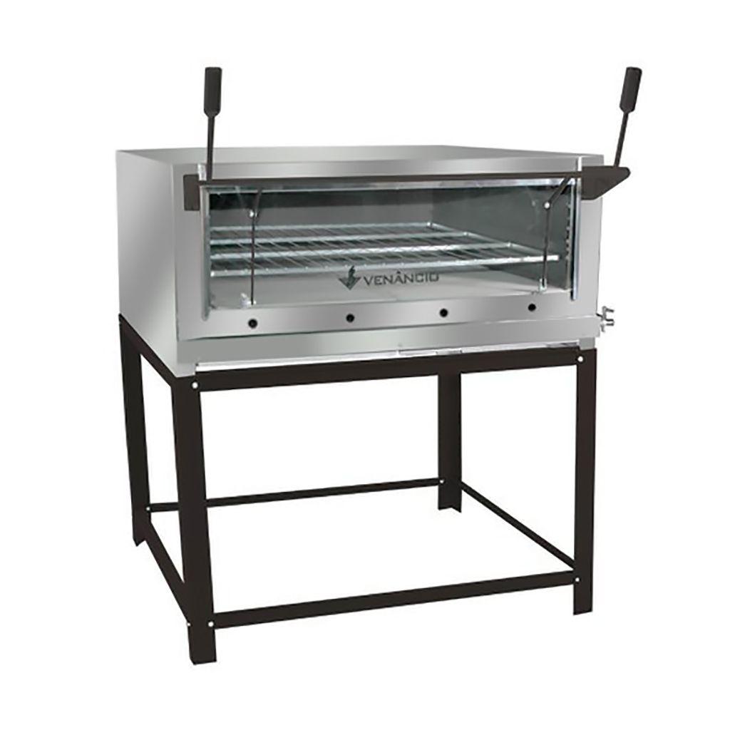 Forno a gas inox refratario venancio mod. firi 110 s/ kit gas ref.1020311010006