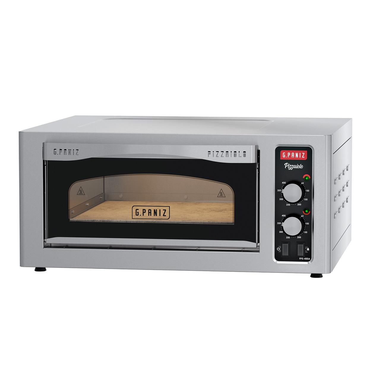 Forno Elétrico Lastro Para Pizza de Bancada G. Paniz FPE-400A - 220V