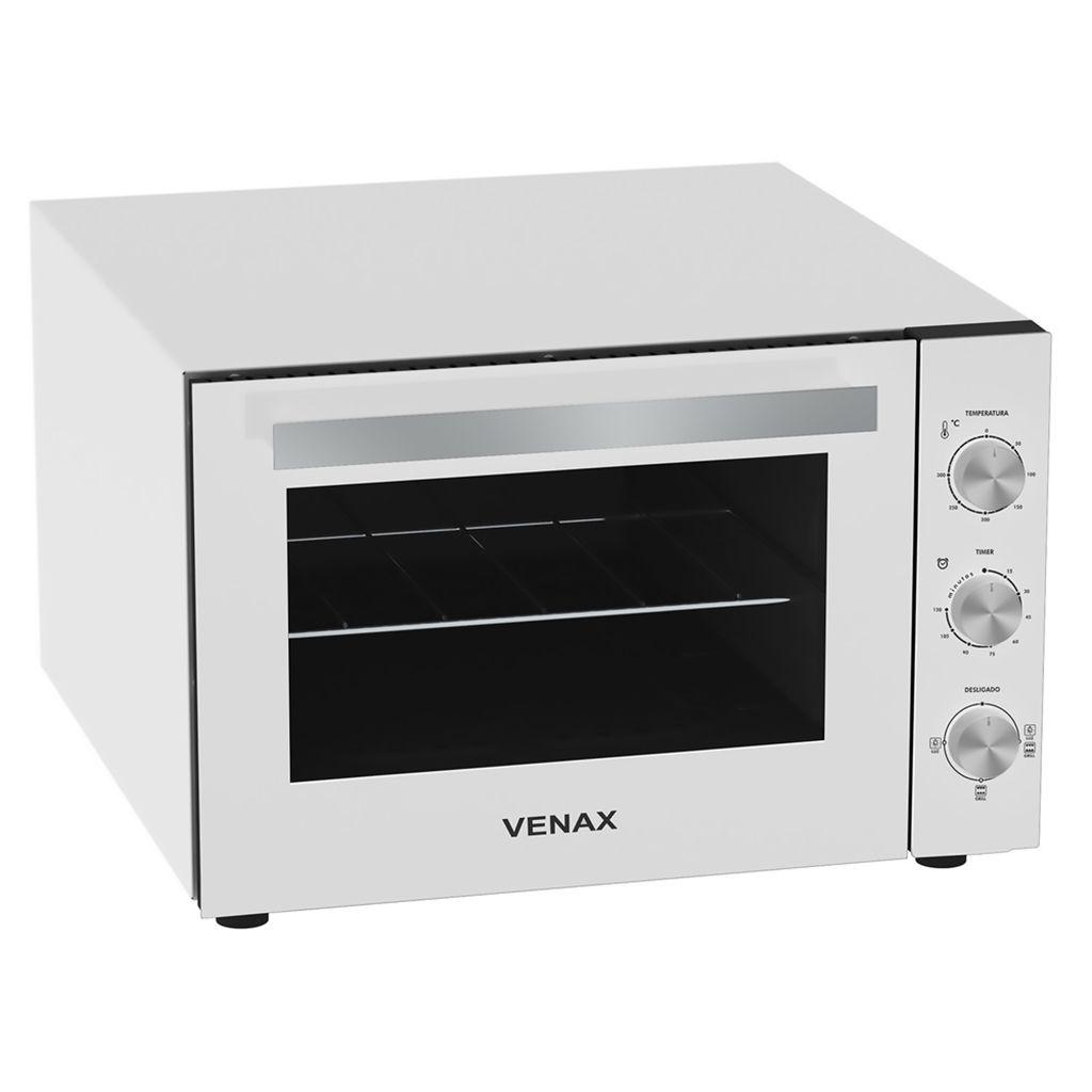 Forno Elétrico Venax Gourmet 45L Branco - 127v