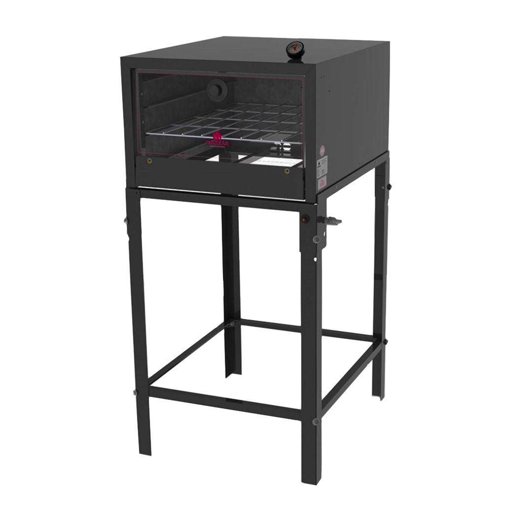 Forno Refratário Semi Industrial à Gás Acendimento Automático Com Pé Progás Fsp-6800n