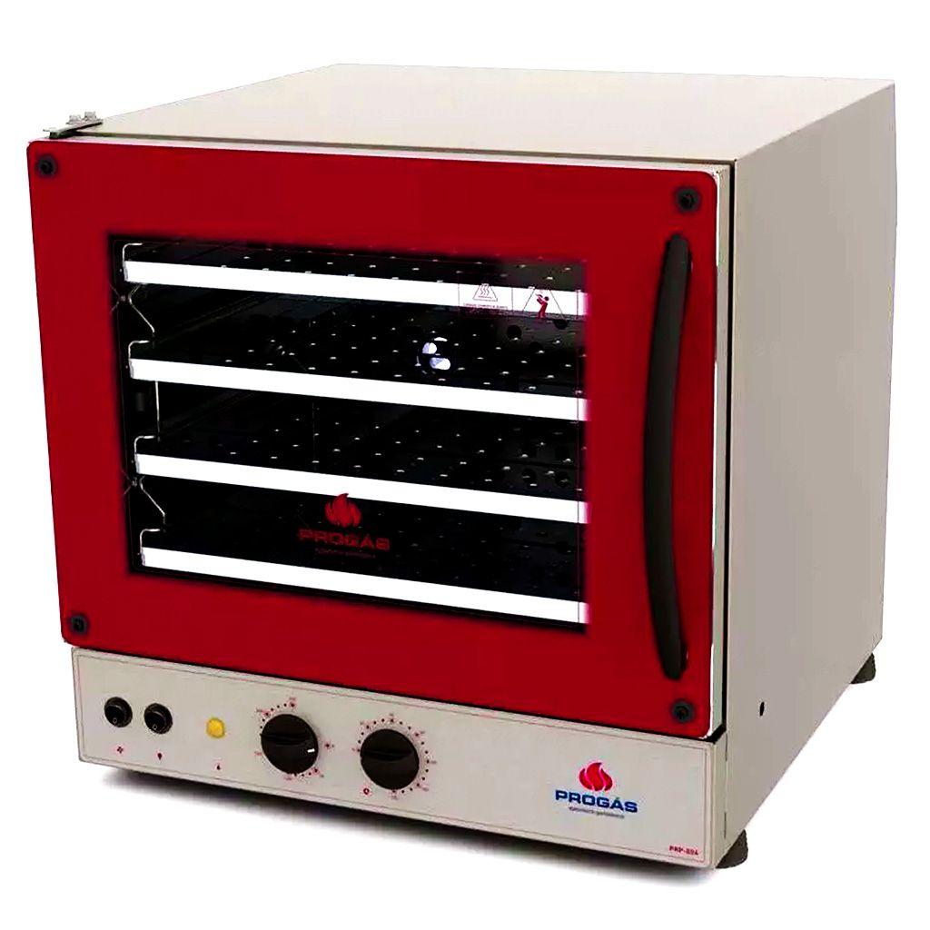 Forno turbo eletrico p/ 04 assadeiras progas 127v prp-004 fast oven ref. p37640