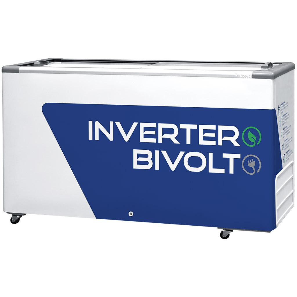 Freezer Conservador Horizontal Fricon  Inverter 503L Branco HCEB503 V - Bivolt