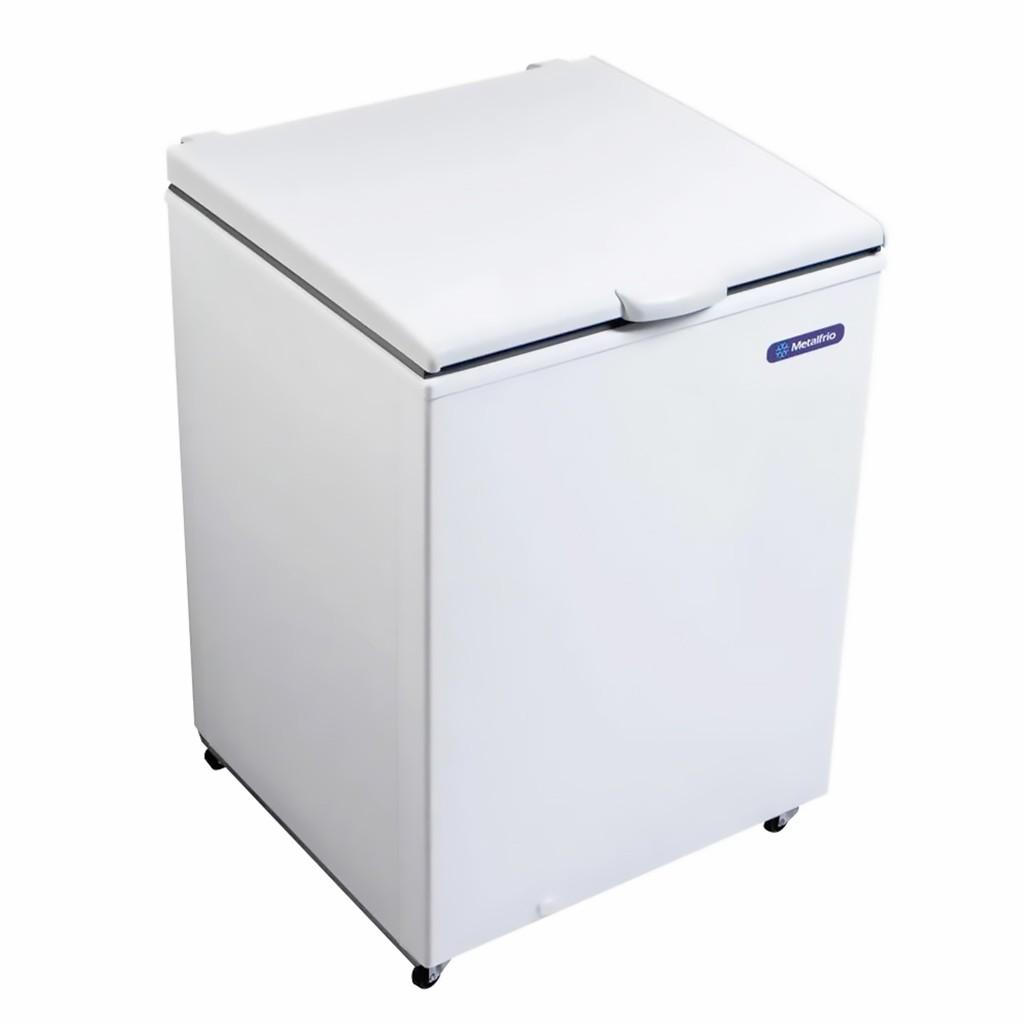 Freezer Conservador Horizontal Metalfrio 1 Porta 166L Branco DA170 - 220v