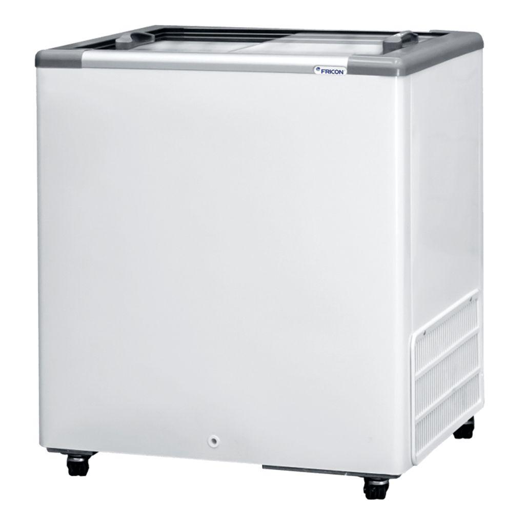 Freezer horizontal comerc. 216lt 127v fricon 2t v. reto mod. hceb-216-1v