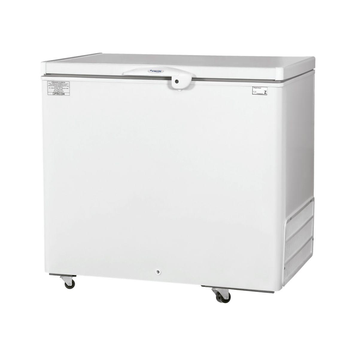 Freezer horizontal comerc. 311lt 127v fricon 1t  mod. hced-311-1c