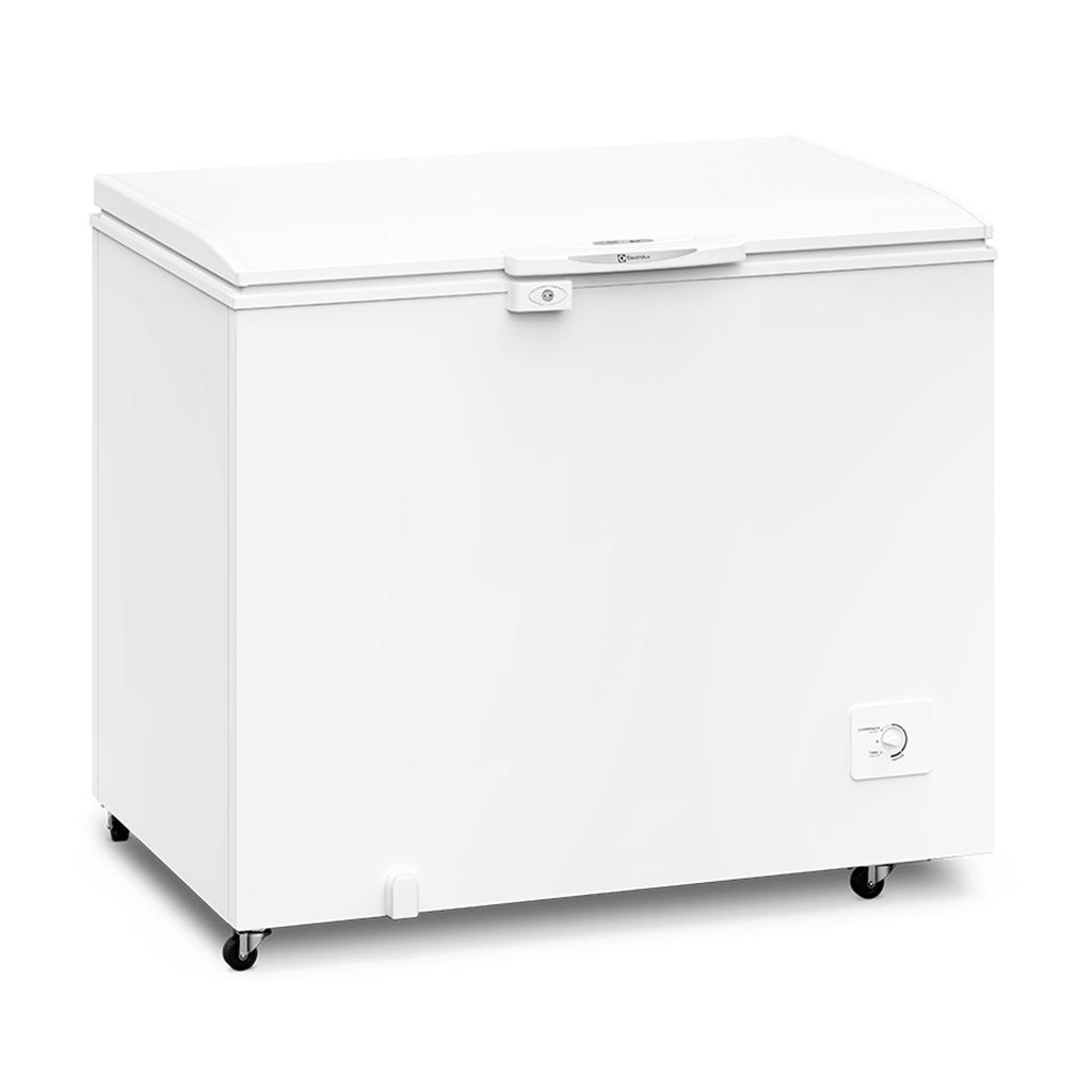 Freezer Refrigerador Horizontal Electrolux 1 Tampa 314L Branco H330 - 220V