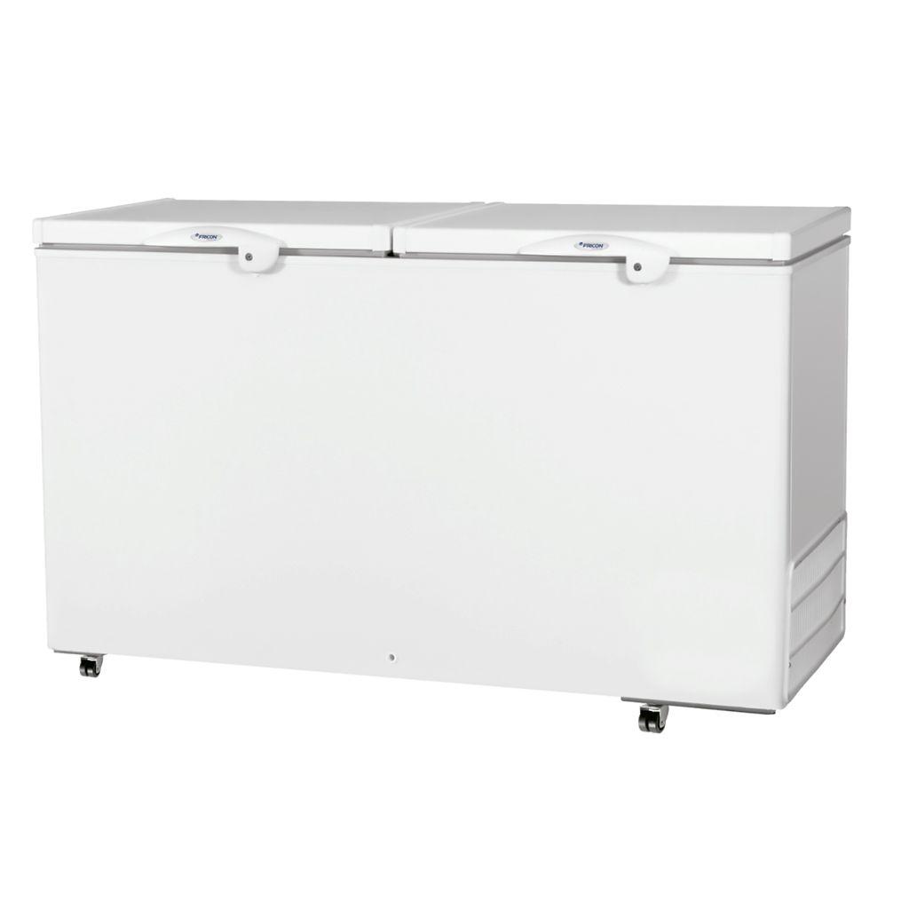 Freezer Conservador Horizontal Fricon 2 Tampas 503L Branco HCED 503 C - 127v