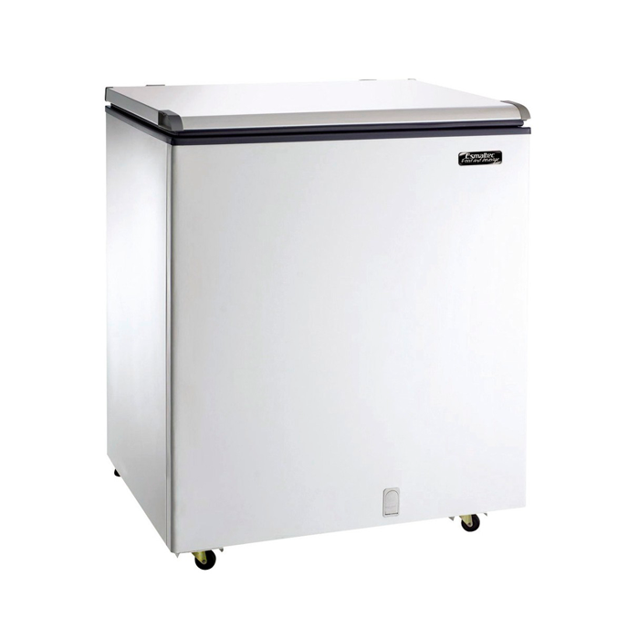 Freezer Horizontal Esmaltec 1 Tampa 215L Branco Chest EFH250S - 127v