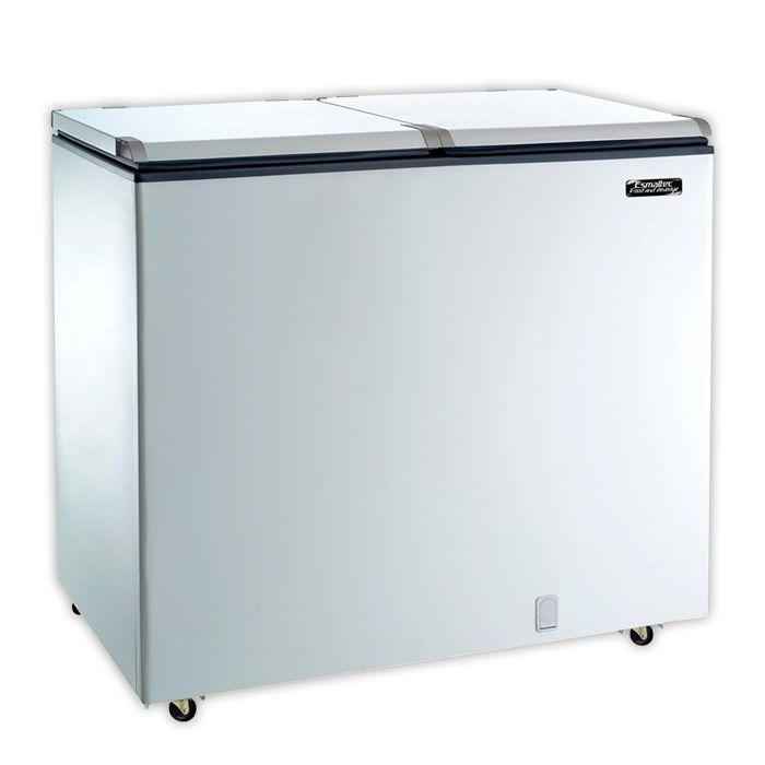 Freezer horizontal comerc. 303lts 127v esmaltec  d.a. mod. chest efh350s