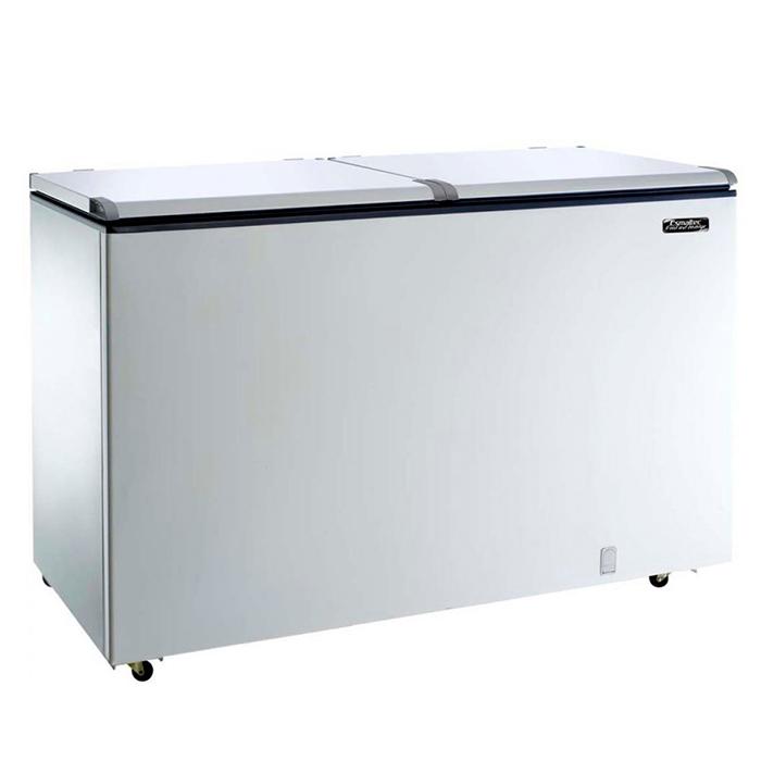 Freezer horizontal comerc. esmaltec 439lt 127v d.a. mod. chest efh500s