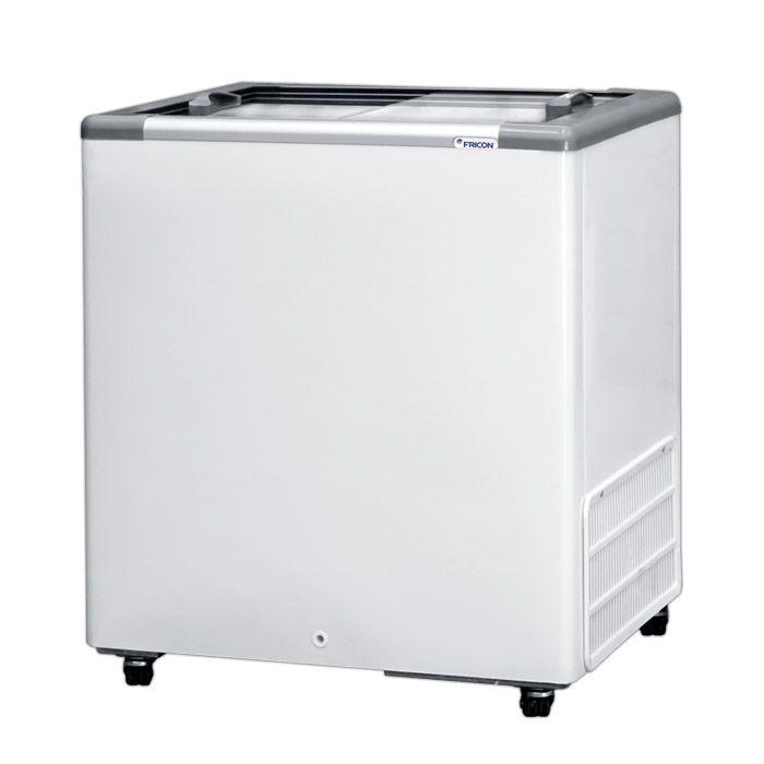 Freezer horizontal comerc. 216lts 127v fricon 2t v. reto mod: hceb-216-1v