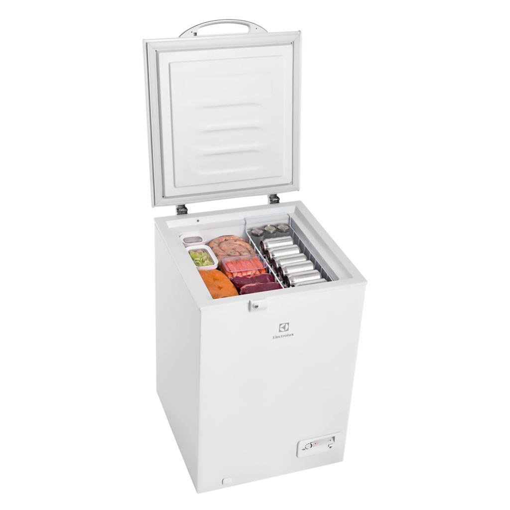 Freezer horizontal domest. 149lt 127v electrolux d.a 1t brn mod. h162