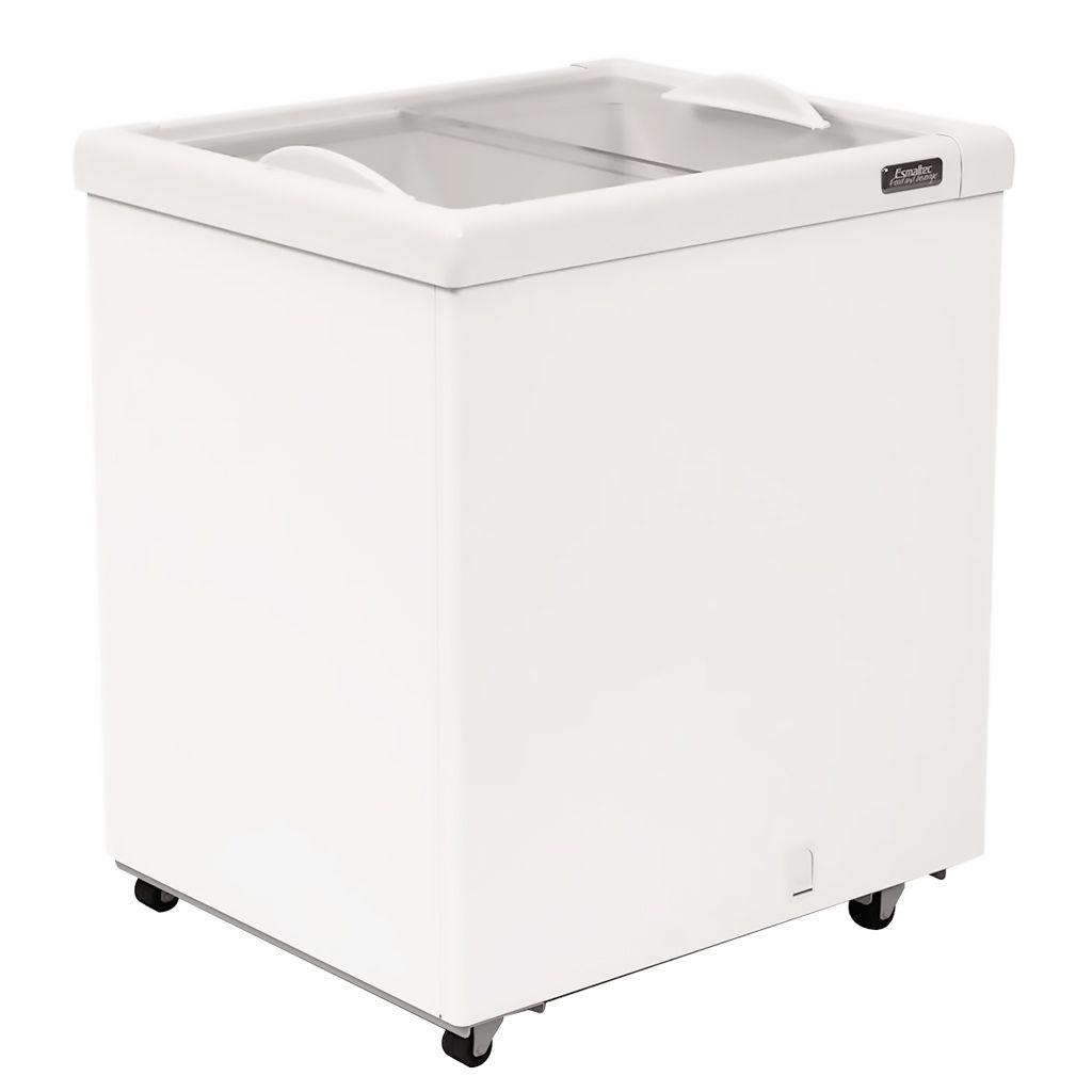 Freezer Conservador Horizontal Esmaltec 2 Portas 177L Branco AFN200 - 127v