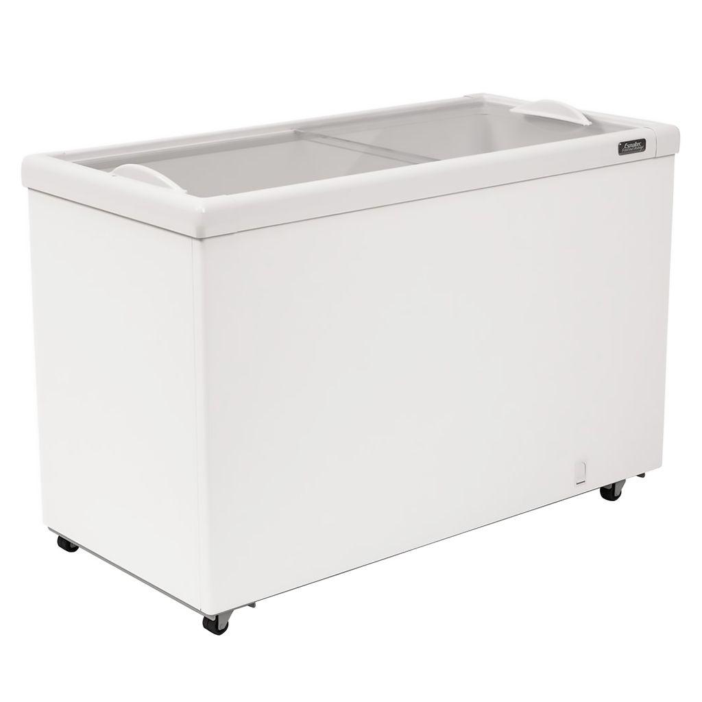 Freezer Horizontal Esmaltec 2 Tampas 367L Branco AF400 - 127v